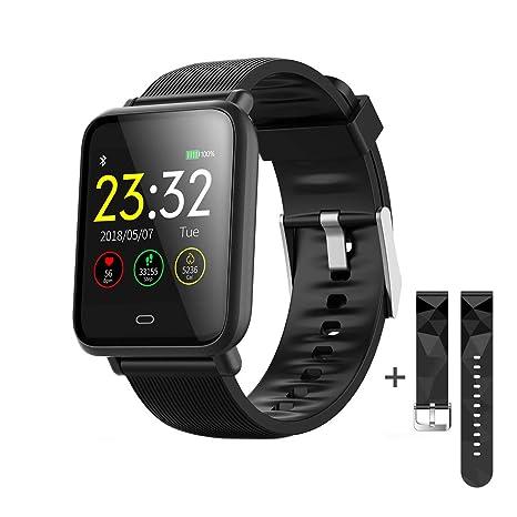 Smartwatch, Reloj Inteligentes Android ,Pulsera Actividad Inteligente para Reloj Deportivo, Reloj Iinteligente Hombre