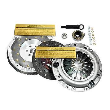 Amazon.com: EXEDY CLUTCH PRO-KIT+FIDANZA ALUMINUM FLYWHEEL FORD PROBE MAZDA MX-6 626 2.0L: Automotive