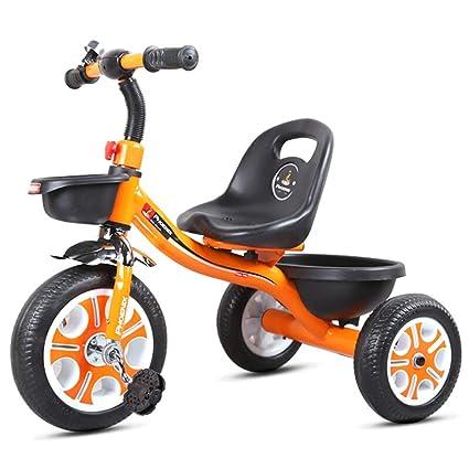 Fenfen Pedal para niños Triciclo Carro de bebé 2-6 años Bicicleta de ...