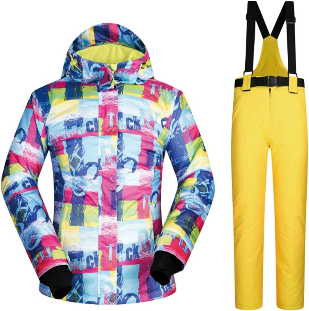 YXDIANZI 女性用スキー ジャケット スノー ボード防水防風スノー ジャケット レイン スノー アウト ドア ハイキング(s-xl) (色 : 04, サイズ : L)  Large