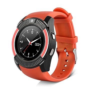 VBESTLIFE Montre Bluetooth 3.0 Smartwatch Montre Sport Soutien Carte SIM TF Montre Connectée avec Caméra HD