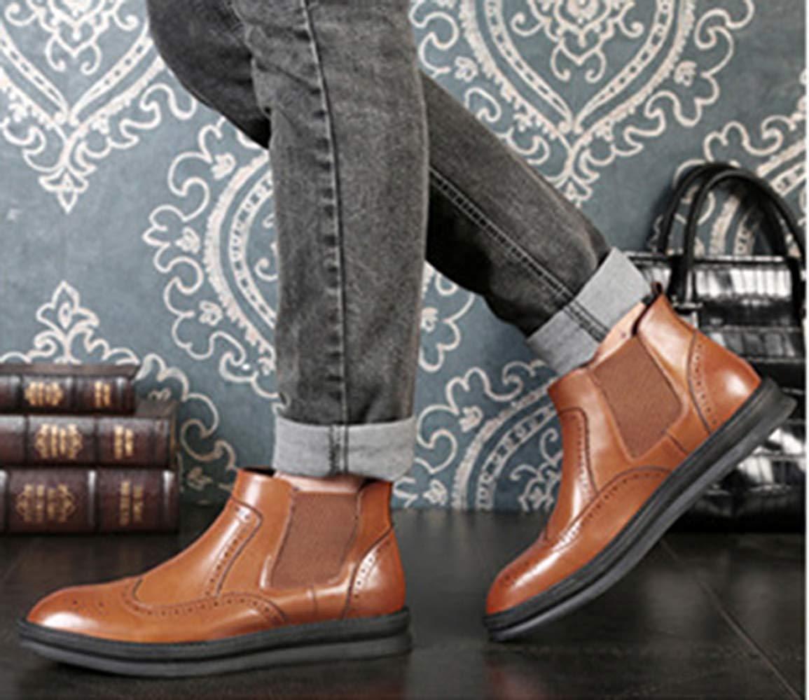 Fuxitoggo Chelsea Stiefel Der Männer Art Und Weise Martin Wies Martin Weise Stiefel (Farbe   Braun, Größe   45EU) 329f02