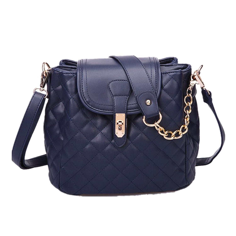 2016 New Lozenge Bucket Chain Portable Shoulder Messenger Bag Fashion Handbags