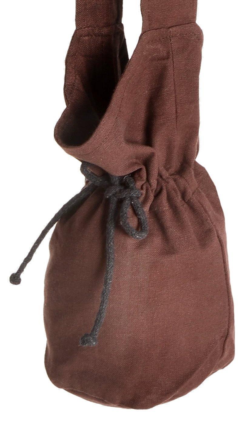 e40763dbe4 HEMAD Borsa a tracolla medievale - Borsa in cotone - S Beige: Amazon.it:  Abbigliamento