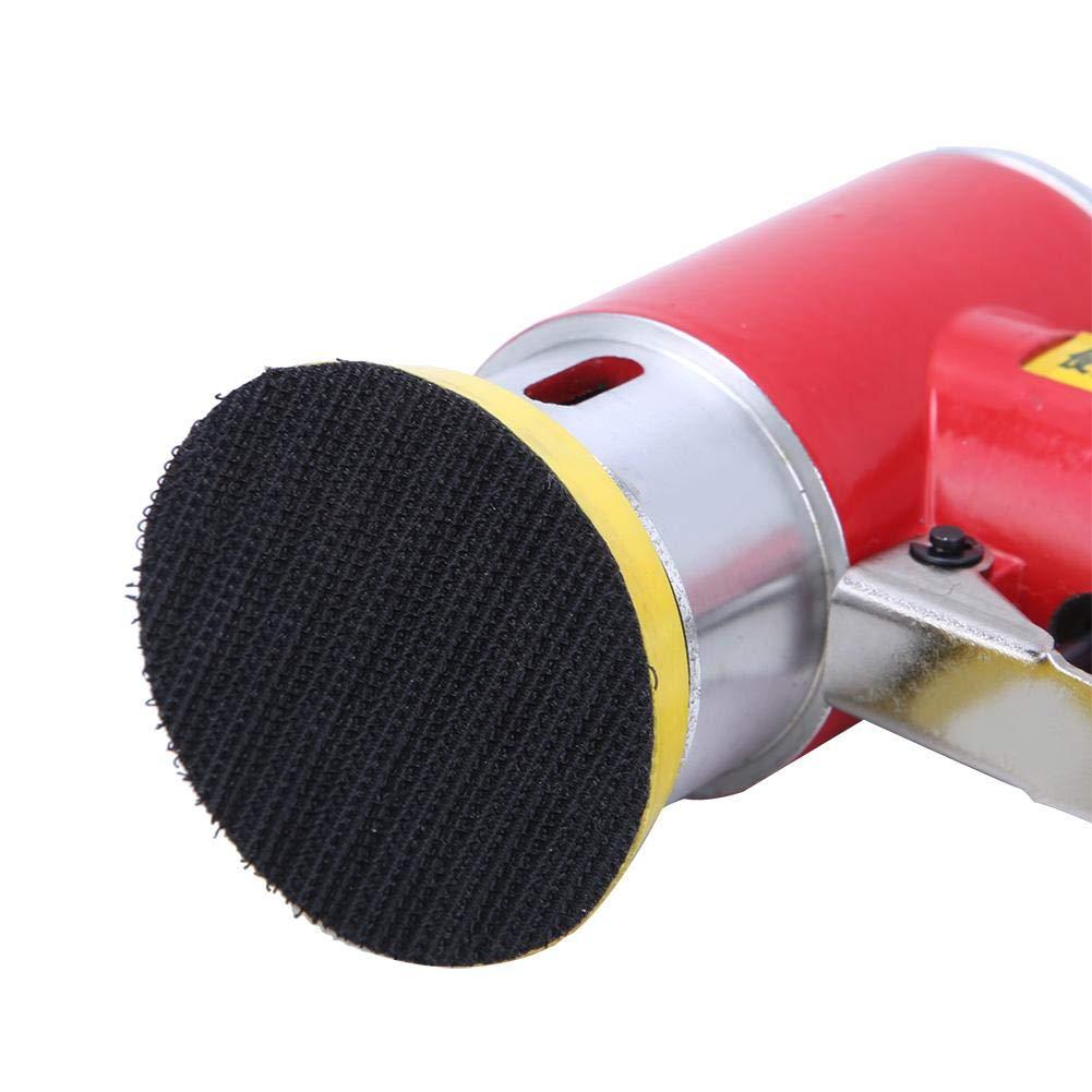 polisseuse /à ponceuse orbitale /à air 2 pouces//3 pouces avec entr/ée 1//4 pouce outil de meulage de polissage de pon/çage pneumatique pour meubles en bois en m/étal Ponceuse /à angle dair
