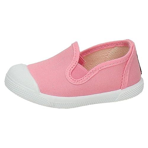 47e1a8dc5 JAVER 153 Bambas DE Lona NIÑA Zapatillas  Amazon.es  Zapatos y ...