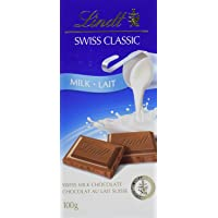 Lindt Swiss Classic Milk Chocolate, Bar, 100g