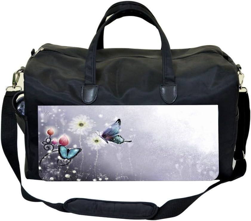 Jacks Outlet Butterfly Flower Sports Bag
