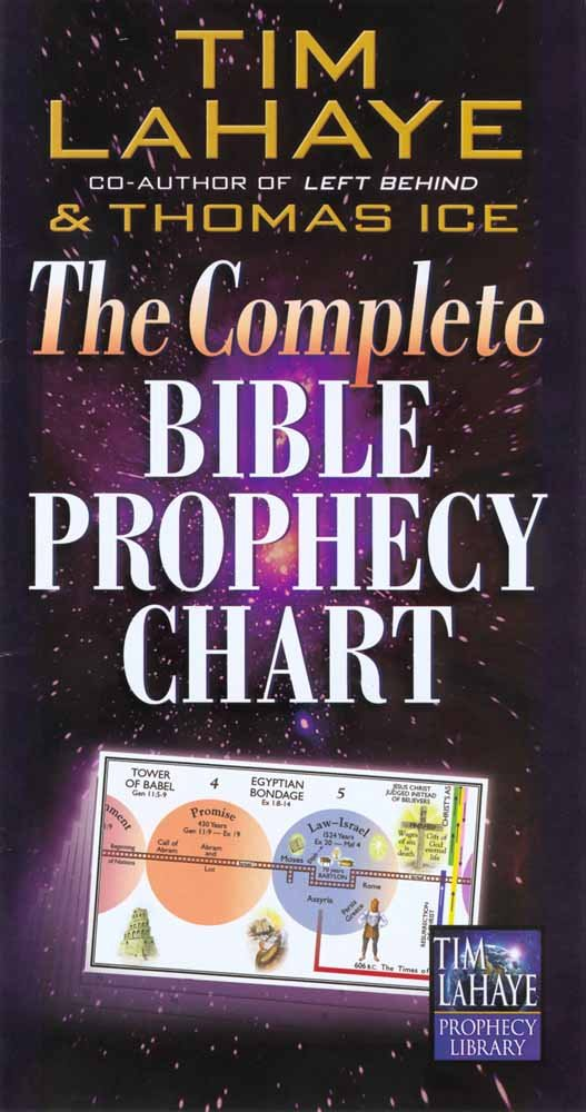 Complete Bible Prophecy 6 Panel Foldout product image