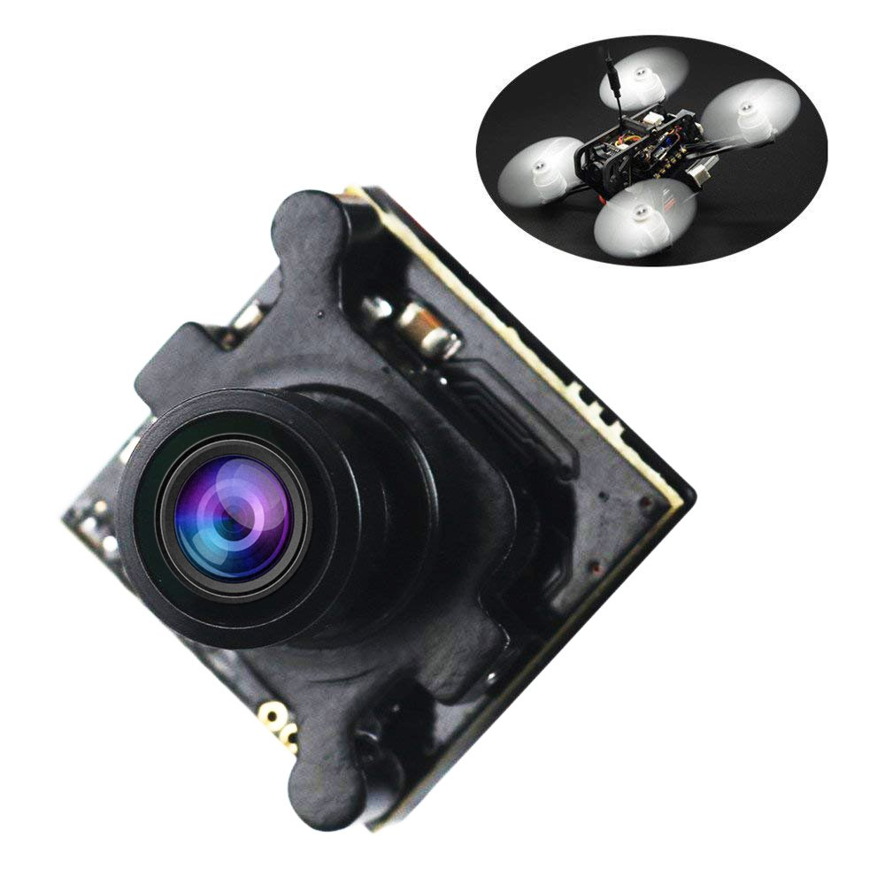 Crazepony FPV Camera Mini 960H 1080P HD Cam 2.1mm Lens with OSD NTSC / PAL Switchable for Multicopter Quadcopter by