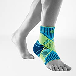 1. Bauerfeind Sports Ankle Support: Breathable Compression
