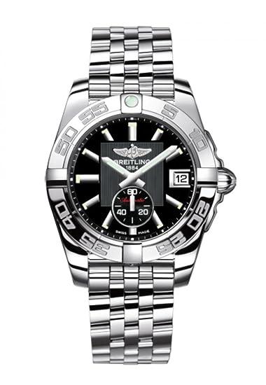 Breitling – Reloj de Pulsera para Mujer con cronógrafo galáctico, de Acero Inoxidable, automático