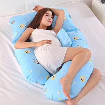 29802bde6 Almohada De Embarazo Tipo G Mujer Embarazada Almohada Protección Para La  Cintura Lado Para Dormir Lado Acostado Almohada Lumbar Multifuncional  Vientre De ...