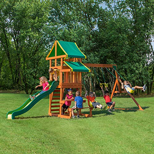 Backyard Discovery Tucson All Cedar Wood Playset Swing Set by Backyard Discovery (Image #2)