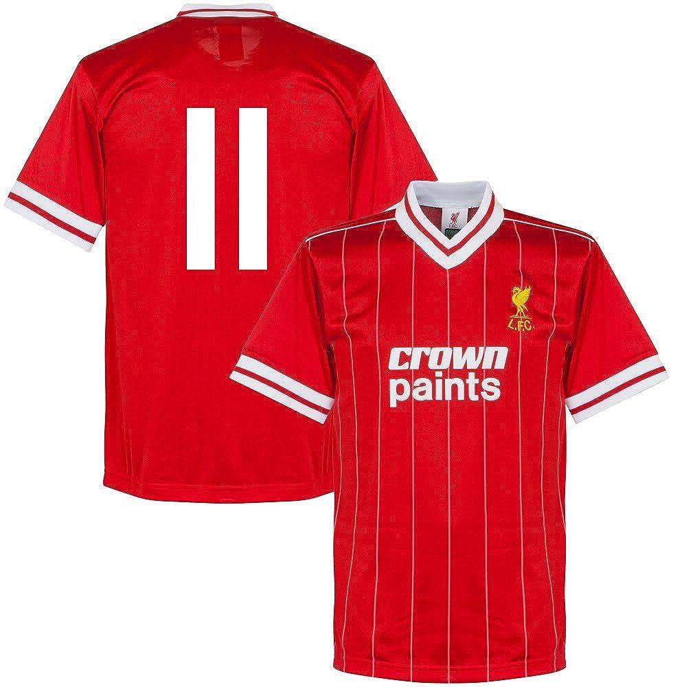 1982 Liverpool Home Retro Trikot + No.11