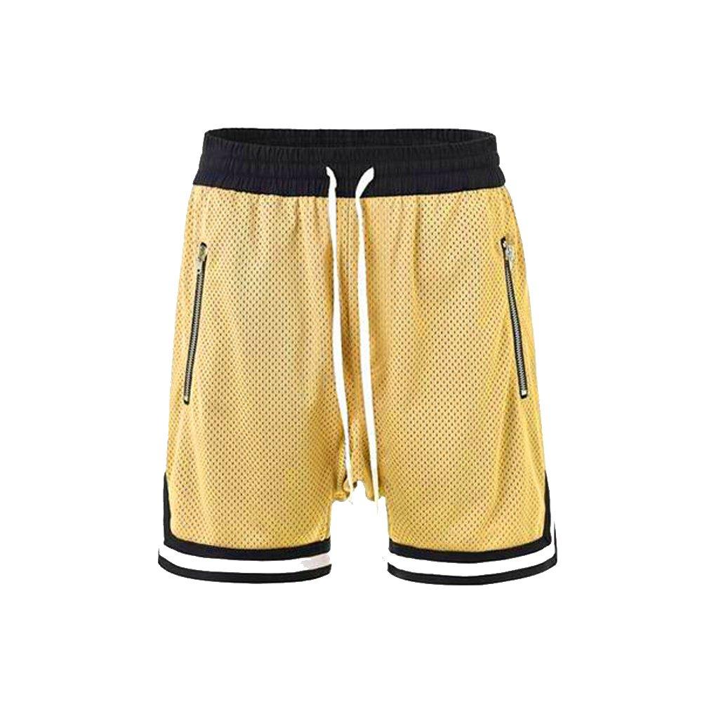 ONCEGALA Men's Hip Hop Premium Basketball Shorts