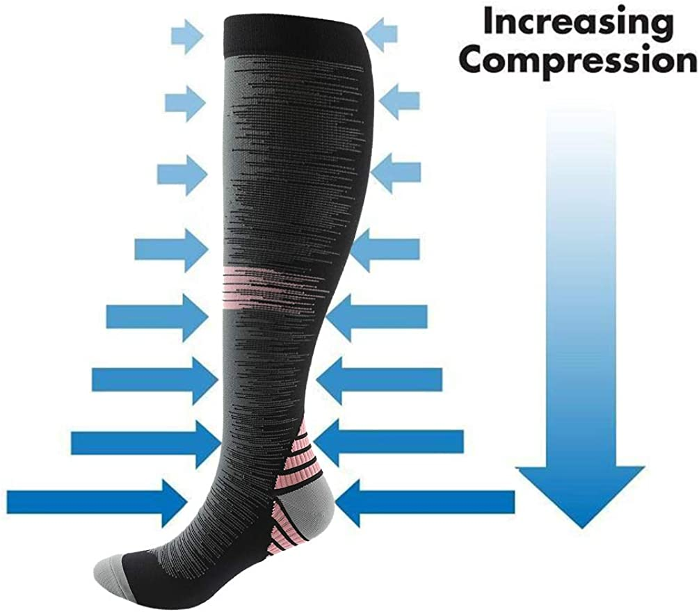 20-30mmHg Compression Stockings for Sports YUGSOUL Compression Socks for Men
