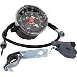 Pyramid Speedometer 26/27 With Resettable Odometer