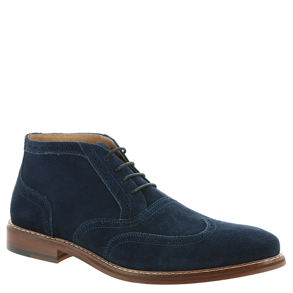 Stacy Adams  Men's Arley Navy Suede 10.5 D US