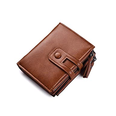 3aaa0ad9ee68 Soft Genuine Leather Designer Double Zip RFID Protected Wallet/Purse ...