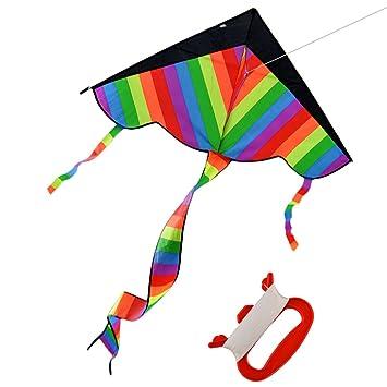 foxom cometa arco iris para nios y adultos mejorventa juguetes al aire libre