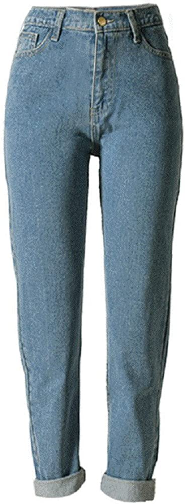 80s Costumes, Outfit Ideas- Girls and Guys Sorrica Womens Jeans Stretch Straight-Leg Boyfriend Denim Pants $28.99 AT vintagedancer.com