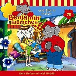 Benjamin und Bibi in Indien (Benjamin Blümchen 70)