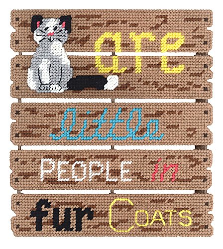 Janlynn Cats Are Pallet-ables Plastic Canvas Kit
