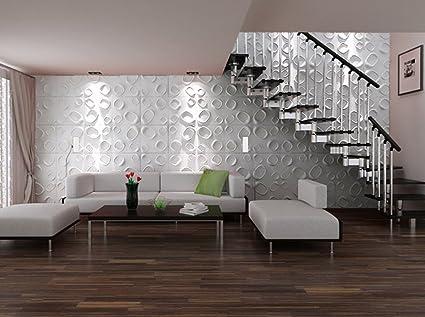 Pannello decorativo in 3D Carol per muri interni, 100 ...