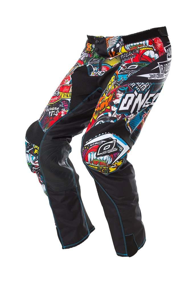 O'Neal Men's Mayhem Crank Men's Pant (Black/Multi, Size 30) by O'Neal (Image #1)