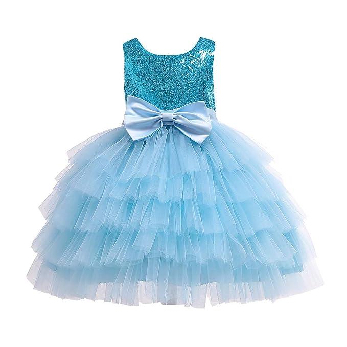Amazon.com: Hunauoo - Vestido sin mangas para niña, con ...