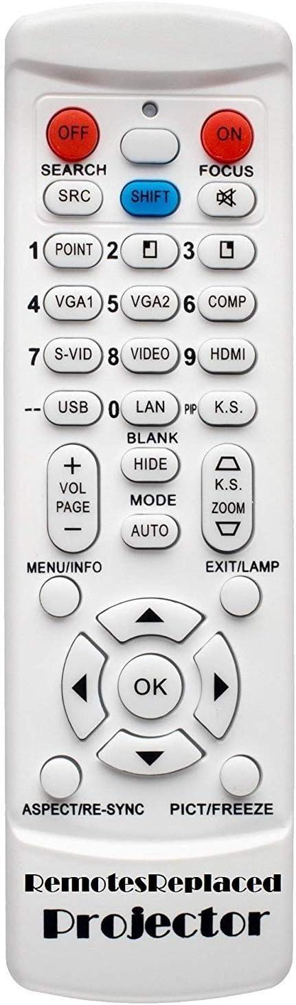 RemotesReplaced Mando a Distancia Compatible con Mitsubishi HC5000 ...