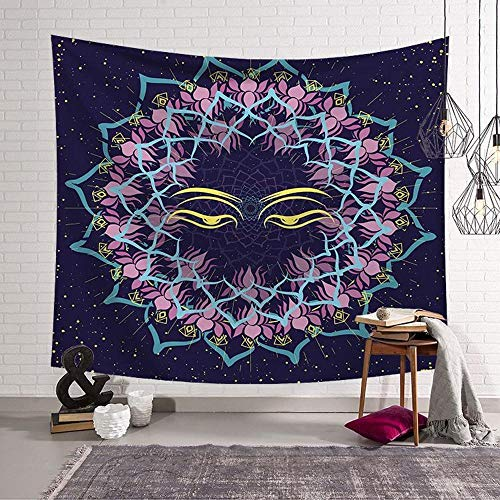 Daeou Tapestry Art Wall Hanging Solar Series Home Hanging Cloth Tapestry Wall Decoration Cloth Dimensions: 1.52m by Daeou