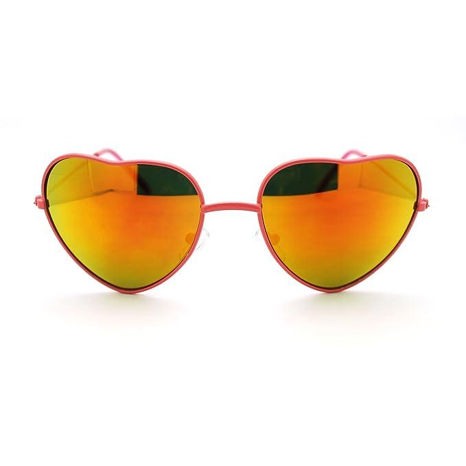 Amazon.com: Amor Corazón anteojos de sol multicolor ...
