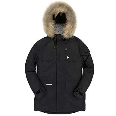 d7b068aa89f Down Jacket Men Winter Thick Warm White Duck Down Hooded Natural Fur Collar  Man Down Coat