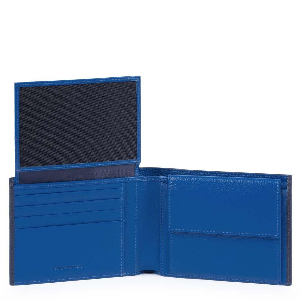 8006b06c5d Piquadro Splash Porta carta di identità, 12 cm, Blu/Blu: Amazon.it:  Valigeria