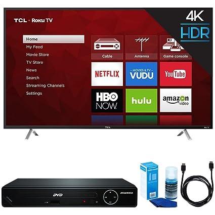 TCL 55S405 55-Inch 4K UHD Roku Smart LED TV (2017 Model) w