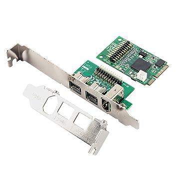 Desconocido Mini PCI Express 1 Port Firewire 1394A and 2 ...
