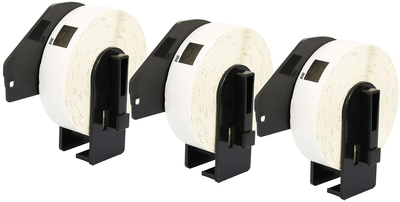 10x DK-11201 29 x 90 mm Adressetiketten (400 Stück Rolle) kompatibel für Brother P-Touch QL-1050 QL-1060N QL-1110NWB QL-1100 QL-500 QL-500BW QL-570 QL-580 QL-700 QL-710W QL-800 QL-810W QL-820NWB B07NY9JZJP | Üppiges Design