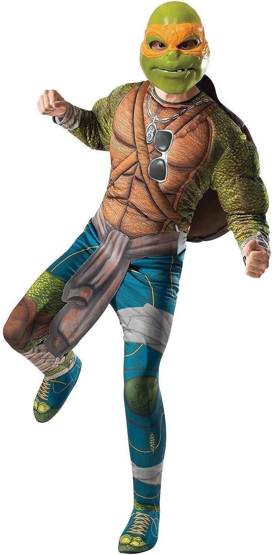 Rubies Costume Mens Teenage Mutant Ninja Turtles Movie Deluxe Adult Muscle
