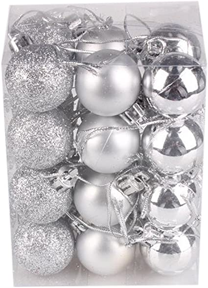 Christmas Xmas Tree Ball Bauble Hanging Party Ornament Decoration Home Decor