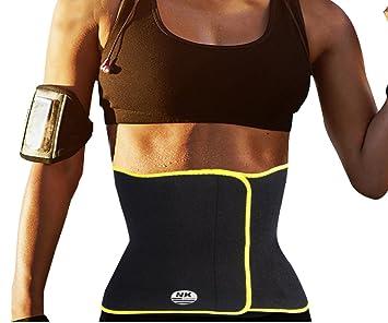 e985c72ec43af DODOING Hot Thermo Sweat Neoprene Body Shaper Slimming Belt Waist Cincher  Girdle for Weight Loss Women