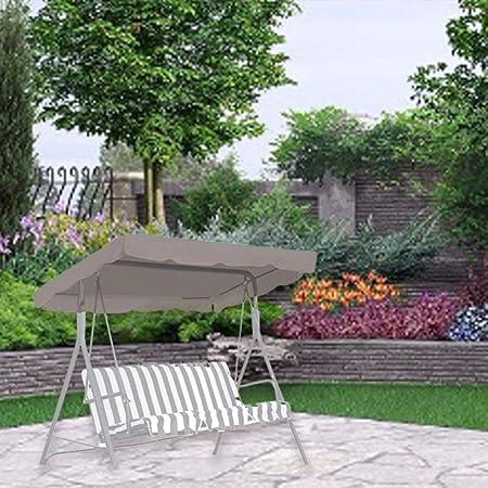 210D Oxford Swing Canopy Reemplazo Impermeable Cubierta Superior Swing Cover para jardín al Aire Libre Porche Yard Helpful: Amazon.es: Hogar