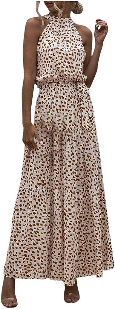 Femme Robe de bal Piste sans manches broderie taille haute Floral Slim robe longue