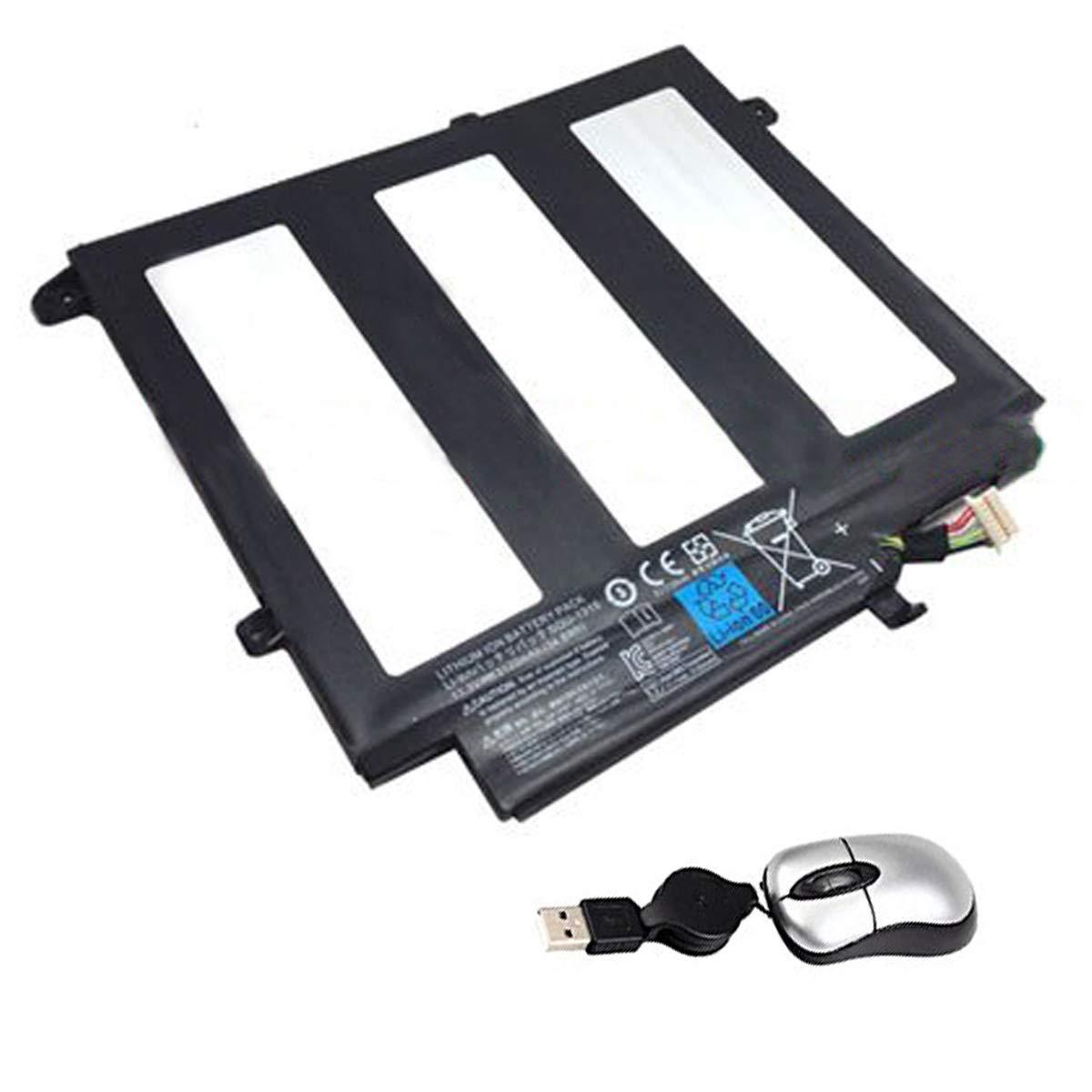 Amsahr SQU-1315-05 - Batería de de Batería reemplazo para Fujitsu SQU-1315, SQU-1315 (Incluye Mini ratón óptico) Color Gris dd26b2