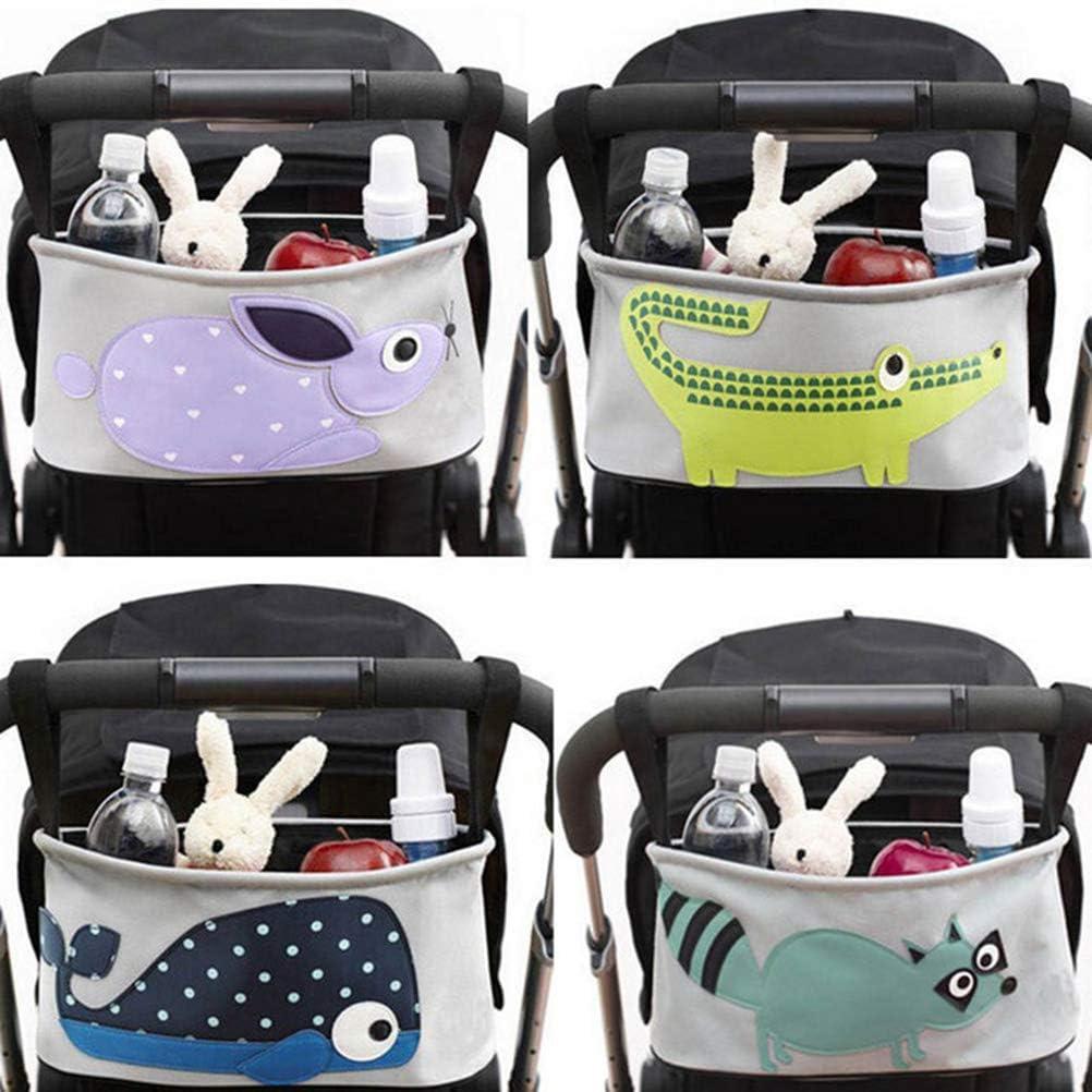 Buggy Organizer Schimer Baby Kinderwagenorganizer Buggy Organizer Kinderwagentasche Rei/ßverschluss Aufbewahrungstasche Kinderwagen