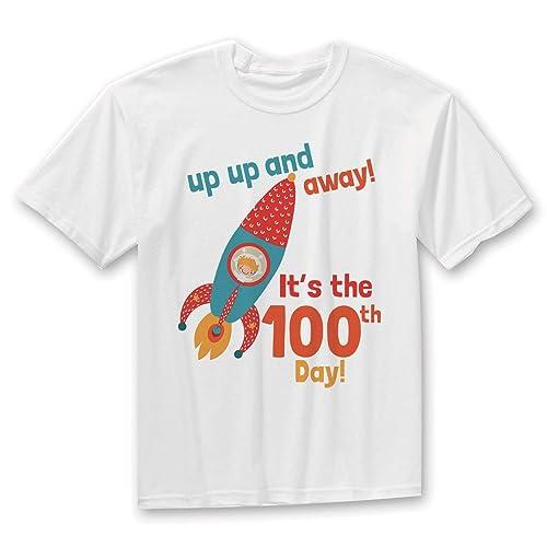 020bd9896 Amazon.com: 100 Days of School Shirt, Boy 100 Days School, 100 Days ...
