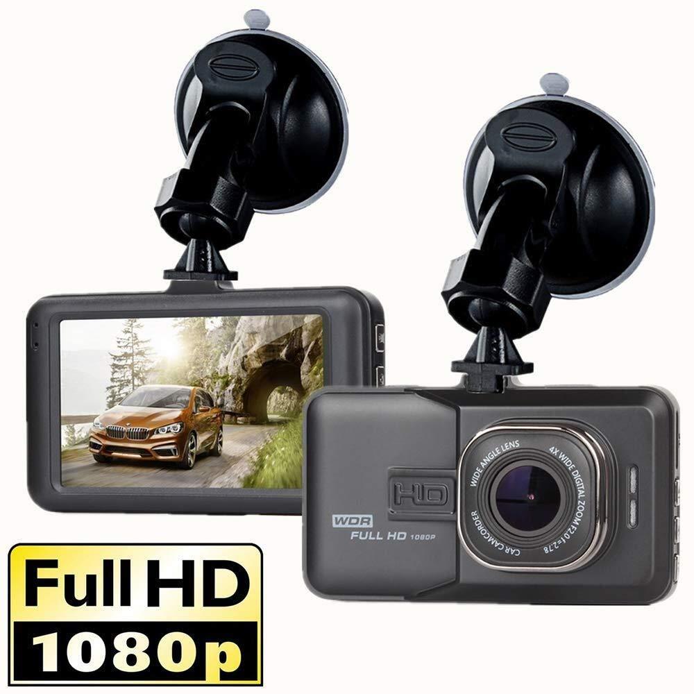 CHEZAI Dashcam Car Camera, HD Night Vision 170 Degree Wide-Angle Camera Parking Monitoring Recorder, Cycle Recording by SPRIS