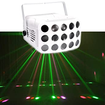 Luces de fiesta RGB 15 Lente 23 patrones Proyector DJ Disco Light ...