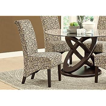 Amazon Com Monarch Specialties Brown Swirl Fabric